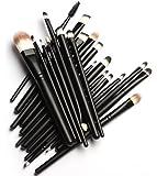 (メイクアップエーシーシー)MakeupAccメイクブラシ20本セット 化粧筆 多機能 柔らかい 黒 化粧セット【並行輸入品】