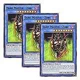 【 3枚セット 】遊戯王 英語版 MIL1-EN009 Dark Master - Zorc 闇の支配者-ゾーク (ノーマル) 1st Edition