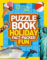 National Geographic Kids Puzzle Book - Holiday【洋書】 [並行輸入品]