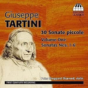 ジュゼッペ・タルティーニ:30の小さなソナタ集 第1集 ピーター・シェパード・スケアヴェズによる編曲版