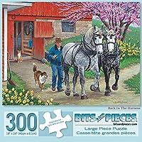 Bits and Pieces - 300ピース ジグソーパズル 大人用 18インチ X 24インチ - ハーネスに背あり - アーティストJohn Sloane Americana ジグソーパズル