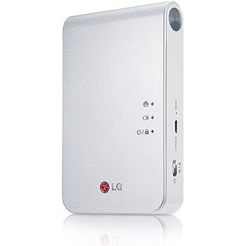 LG Electronics Japan スマートフォン連動プリンター Pocket Photo ホワイト PD239W