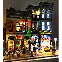 LEGO レゴ クリエイター 10246 互換 探偵事務所 Detective's Office LED ライトキット