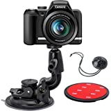 EXSHOW 一眼レフカメラ用大型吸盤マウント 粘着スティッキーパッド 安全テザー付き Canon,Nikon,Olym…