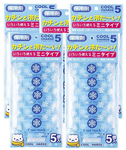 紀陽除虫菊 保冷剤 クールチャージ ファイブ 5個セット
