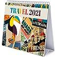 Erik - Travel 2021 Desk Calendar