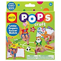Alex Toys Pops Craft Little Fingers Soccer一致