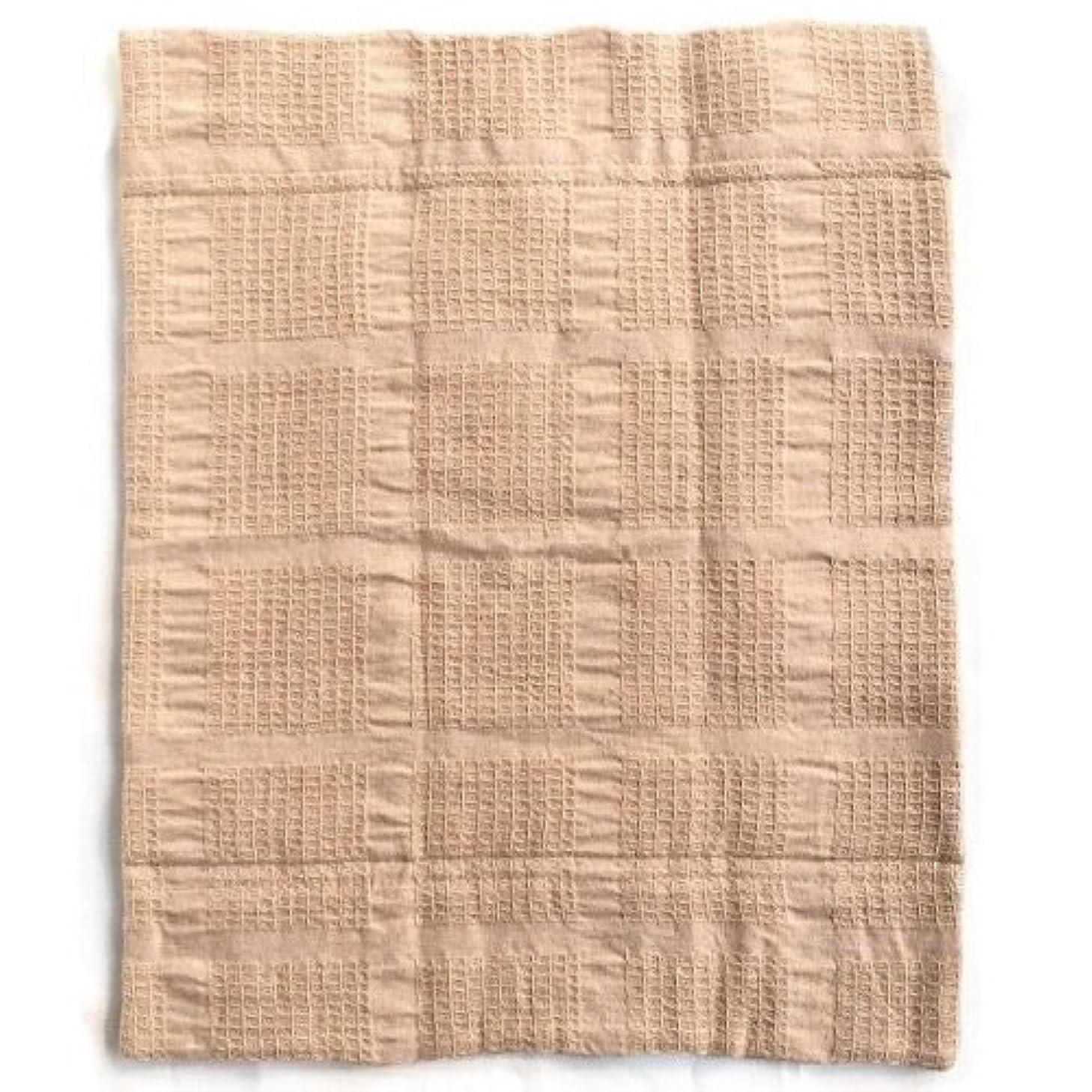 暖かくゼロ囲まれた華布のオーガニックコットンの布ナプキン LLサイズ(約28cm×約35cm) 1枚入り