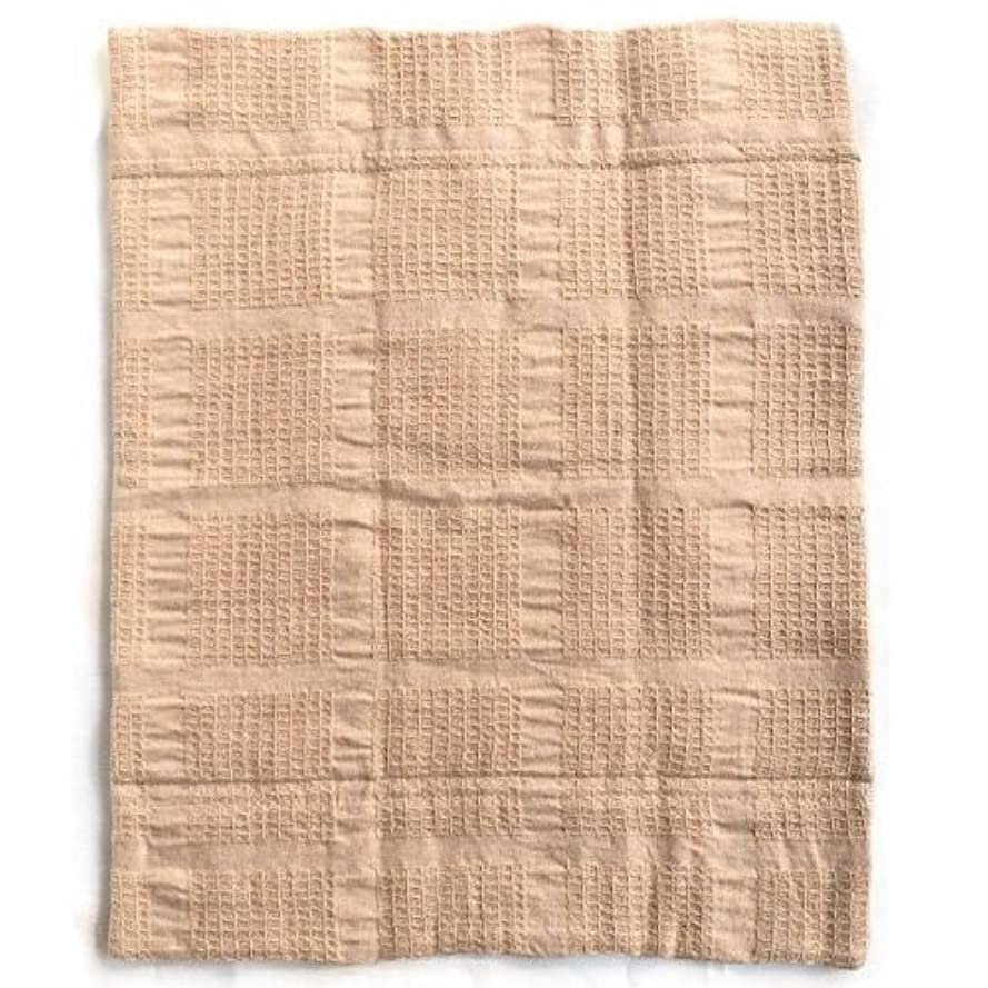 リズムおとなしいお華布のオーガニックコットンの布ナプキン LLサイズ(約28cm×約35cm) 1枚入り