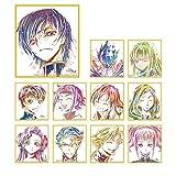 コードギアス 反逆のルルーシュIII 皇道 トレーディング Ani-Art ミニ色紙 BOX商品 1BOX=11枚入り、全11種類