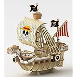 エーゾーン 木製立体パズル Wooden Art ki-gu-mi ワンピース ゴーイング・メリー号