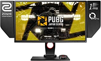 """BENQ XL2546 LED-Lit 1920x1080 Gaming Monitor, 24.5"""", Dark Gray"""