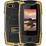 OKAYONE X7 PLUS 世界最小4G スマートフォン アウトドア 防水防塵 落下防止 2.45インチ 2GB RAM+16GB ROMクアッドコア Android 6.0 GSIMフリー 携帯電話 スマートフォン 4Gデュアル sim 指紋認