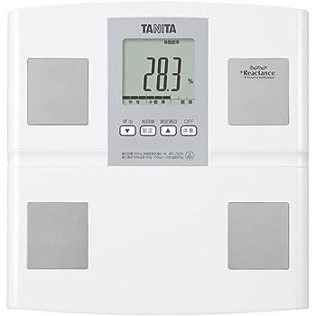 タニタ 体重・体組成計 ホワイトBC-705N-WH 乗るピタ機能で簡単測定 日本製