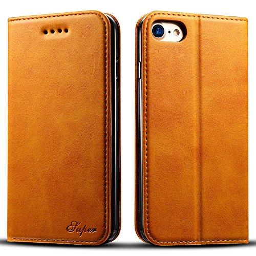 iPhone7 ケース 手帳型 高級PUレザー iPhone...