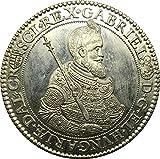 ターラー銀貨 1621年 ハンガリー トランシルバニア アンティークコイン レプリカ