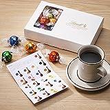 リンツ (Lindt) チョコレート リンドール テイスティングセット 20種 23個入りショッピングバッグS付