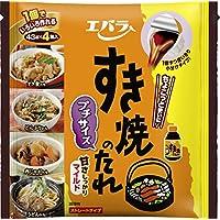 エバラ食品 すき焼のたれ マイルド プチサイズ (43g×4個)×4袋