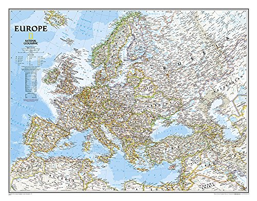 Download Europe Classic (National Geographic Reference Map) 079228111X