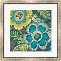 GREATアートNow 954986–親 26 x 26 Silver Scoop Frame ブルー R954986-AEAEAGMFEY