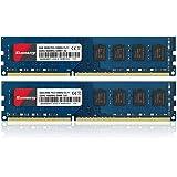 Kuesuny DDR3 1600 デスクトップ PC用 メモリ PC3-12800 8GB×2枚 PC3-12800U 1.5V 240Pin CL9 Non-ECC DIMM
