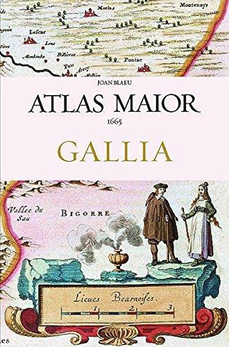 Download Joan Blaeu Atlas Maior 1665 Gallia: France, Frankreich 3822851051