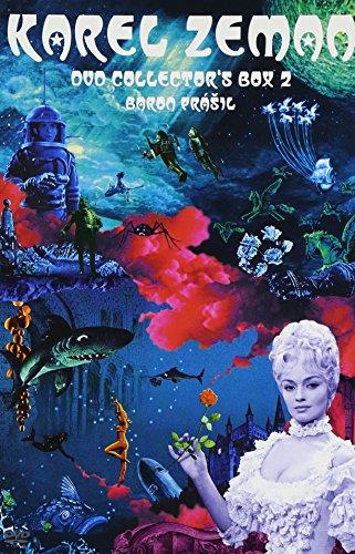 カレル・ゼマン 「悪魔の発明」 「ほら男爵の冒険」 [DVD]