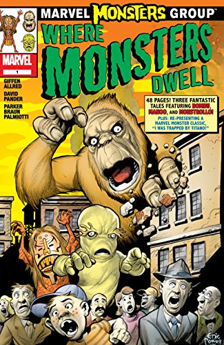 Marvel Monsters: Where Monsters Dwell (2005) #1 (Marvel Monsters (2005)) (English Edition)