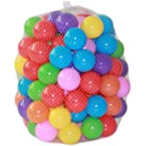 100pcs/lot Kids Ocean Ball , Eco-Friendly Colorful Soft Plastic Water Pool Pit Balls Wave Ball Baby Funny Toys Stress Air Bal