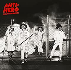 ANTI-HERO♪SEKAI NO OWARIのCDジャケット
