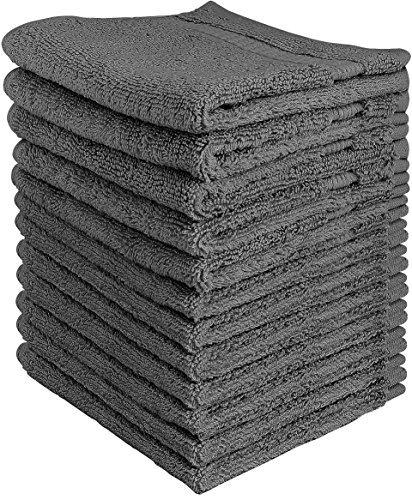 Utopia Towels - フェイスタオル (グレー, ...
