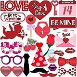 バレンタイン写真小道具 親2 レッド 43221-6205