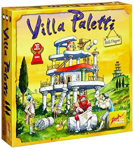 Villa Paletti: Spiel des Jahres 2002. Für 2 - 4 Spieler ab 8 Jahren. Spieldauer: 30 Minuten