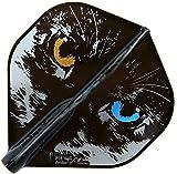 COSMO DARTS フライト Fit Flight AIR × Robin Curry Dブラック スタンダード