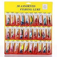 マルチカラー15+ Bait値15個セットミックス釣りルアーDad、友人、釣りのギフトです、初心者をProfessional etc。
