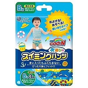 グーン スイミングパンツ BIG (12kg以上) 男の子用 36枚(3枚×12) 【ケース販売】