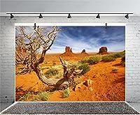 leyiyi 5x 91センチPhotography Backgroud Monument Valley Backdrop American National Park Navajo Tribal Parkカウボーイ西部砂漠Rock DryトランクWarship Landmark FilmフォトPortraitビニールStudio Prop