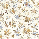 Melody Jane Dollhouse Country French Collection Monique Miniature Print Wallpaper 3 Sheets