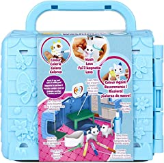 Crayola Scribble Scrubbie Pets Vet Toy Set, Multi, 8 Pieces
