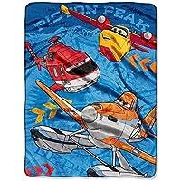 "Disney's Planes ""Rescue Crew"" Micro Raschel Throw - 45""x60"" [並行輸入品]"