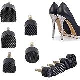 「60個」靴底修理キット トップリフト 靴ヒール修理用釘 5サイズ含む ハイヒール用 婦人ヒール用 ハイヒール取り替え釘 取り替え 滑り止め 靴屋用 靴アクセサリー