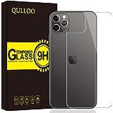 【2枚セット】QULLOO iphone 11 Pro 2019 背面 専用ガラスフィルム 【日本製素材旭硝子製】 3D Touch対応 硬度9H 高透過率 飛散防止処理保護 防爆裂 iphone 11 Pro 5.8 2019 液晶保護 ィルム (