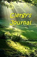 Clergy's Journal: Notebook / Diary / Blank Book