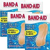 【セット品】BAND-AID(バンドエイド) 救急絆創膏 ウォーターブロック 40枚 (4個)