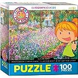Monet's Garden by Claude Monet 100-Piece Puzzle