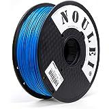 Noulei PLA 3D Printing Filament 1.75mm for 3D Printer 1kg/2.2lbs Spool (Blue)