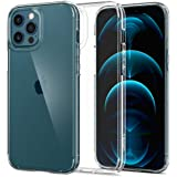 Spigen Ultra Hybrid Designed for Apple iPhone 12 Pro Max Case (2020) - Crystal Clear (ACS01618)