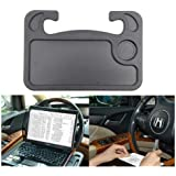 Monresi Car Steering Wheel Desk for Laptop/Tablet/iPad/Notebook, Travel -Mate Portable Eating Table Car Tray