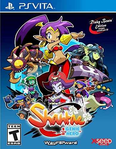 Shantae: Risky Beats Edition (輸入版:北米) - PS Vita...