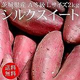 茨城県産シルクスイート(生) A等級 Lサイズ 2kg